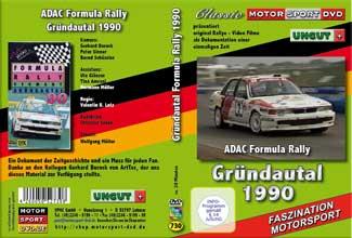 Formula Rallye Gründautal 1990 * Mitsubishi* D730