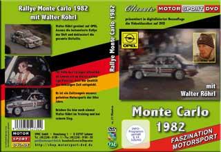 50. Rallye Monte Carlo 1982 mit Walter Röhrl * D732