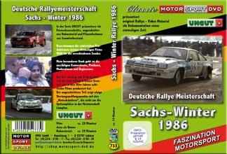 Sachs Winter Rallye 1986  UNCUT+ * D733