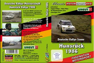 D 734* Hunsrück Rallye 1986 UNCUT*Peugeot 205*Opel Manta*