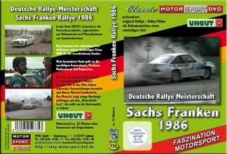 Sachs Rallye Franken 1986 * Harald Demuth* D735