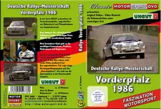 Rallye Vorderpfalz 1986 UNCUT+ OPEL Manta 400 + *D736