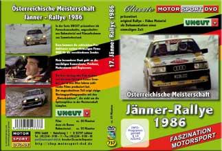 D737* 17. Jänner Rallye 1986 UNCUT+ * Motorsport DVD * Rallye