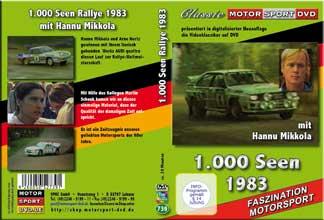 1000 Seen Rallye Weltmeisterschaft 1983 * D739