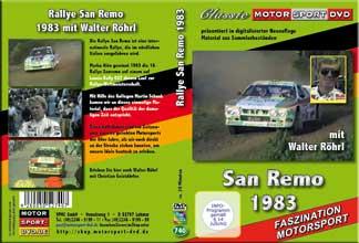 Rallye San Remo 1983 * Walter Röhrl * Lancia * D740