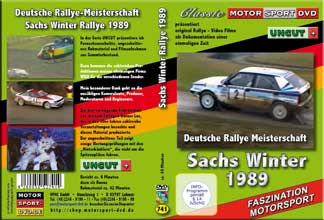 Sachs Winter Rallye 1989  UNCUT+ * D741