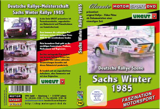 Sachs Winter Rallye 1985 * UNCUT* OPEL Manta 400* D742