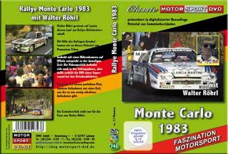 D743* 51. Rallye Monte Carlo 1983 *Walter Röhrl *Lancia* Rallye DVD* Motorsport