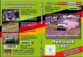 D744* Hunsrück Rallye 1987 UNCUT * Walter Röhrl AUDI