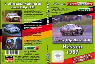 Hessen Rallye 1987 * UNCUT Motorsport *OPEL*AUDI *D745