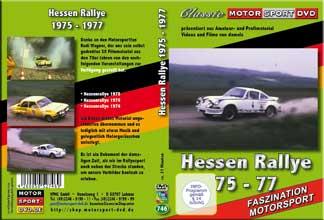 Hessen Rallye 1975 - 1977 * Porsche *Opel* S8 Film*D746