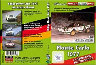 Rallye Monte Carlo 1977 mit Sandro Munari Lancia *D747