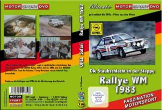 Safari Rallye WM 83 * OPEL mit Ari Vatanen *D750