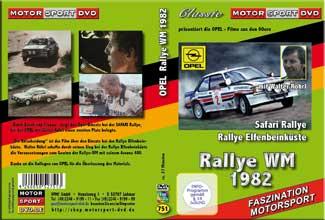 Rallye WM 82 Safari + Elfenbeinküste mit W.Röhrl * D751