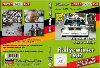 Rallye WM 82 Monte & Schweden *Opel mit W. Röhrl * D752