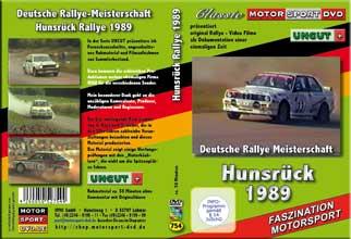 D754* Hunsrück Rallye 1989  UNCUT* Lancia BMW M3* OPEL*