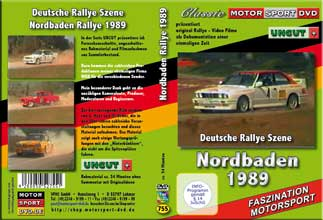 28.ADAC-Rallye Nordbaden 1989  UNCUT * D755