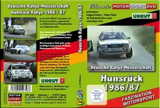 D756* Hunsrück Rallye 1986/1987 UNCUT* AUDI quattro