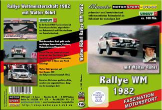 Rallye WM 1982 mit Walter Röhrl OPEL Ascona 400 *D758
