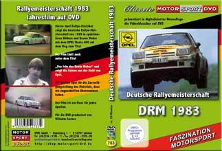 Rallye Meisterschaft 83 *Das Jahr des Erwin Weber *D753