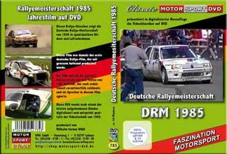 DRM 85 * Deutsche Rallye Meisterschaft *Peugeot* D785