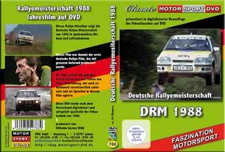 DRM 88 * Deutsche Rallye Meisterschaft * D788