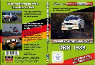 DRM 89 * Deutsche Rallye Meisterschaft * D789