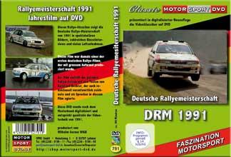 DRM 91 * Deutsche Rallye Meisterschaft * D791