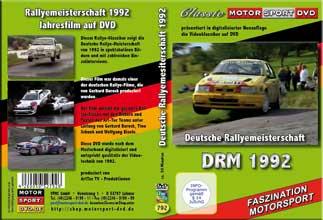 DRM 92 * Deutsche Rallye Meisterschaft * D792