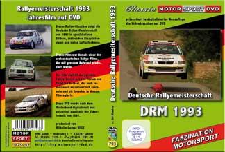 DRM 93 * Deutsche Rallye Meisterschaft * D793
