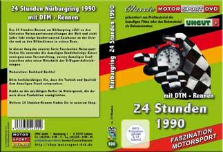 24 Stunden Nürburgring 1990 mit DTM* BMW 03 * D890