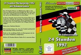 24 Stunden Nürburgring 1992 mit DTM * D892