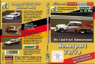 D112* 1978 Rennsport * S8 Material * Zakspeed Turbocapri *