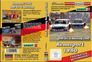 D114* 1980 DRM Rennsportmeisterschaft * Norisring  Racing
