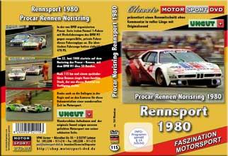 D115* 1980 BMW M1 Procar Rennen * Norisring  * Stuck *