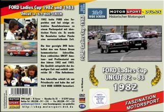 D118* FORD Ladies CUP 82/83 im WIDESCREEN 16:9 Format