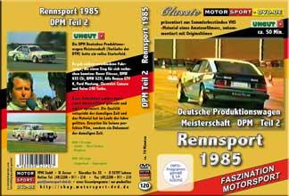 D120* Deutsche Produktionswagenmeisterschaft 1985 *T2