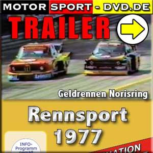 D123* Rennsport DRM Rennsportmeisterschaft Gruppe 5 Geldrennen Norisring 1977