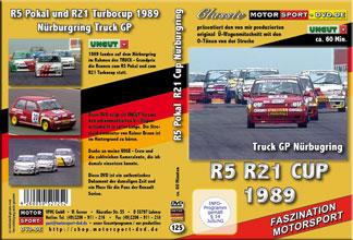D125* R5 Pokal * R21 Cup Rennen Nürburgring 1989 * Motorsport * Rundstrecke