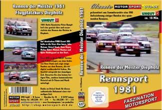 D127* Rennen der Meister*  Race of Champions Diepholz 1981 * Rennsport*