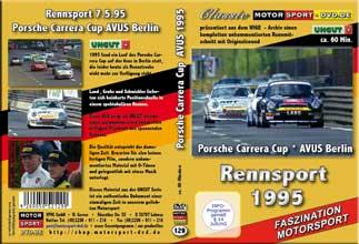D129* Porsche Carrera Cup Avus 1995 * Rennsport * Motorsport-DVD