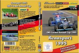 D131* Formel Renault 1995* Rennsport * Motorsport-DVD * Renault-Cup