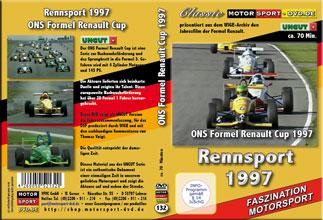 D132* Formel Renault 1997* Rennsport * Motorsport-DVD * Renault-Cup