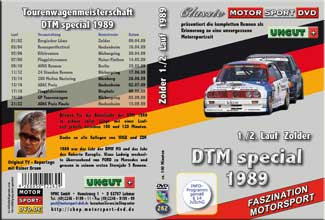 DTM-spezial 1989 * Zolder  1./2. Lauf *D262