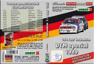 DTM 1989 * Hockenheimring  3./4. Lauf * BMW M3 *D263