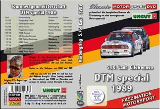 DTM-spezial 1989 * Nürburgring  5./6. Lauf *BMW M3*D264