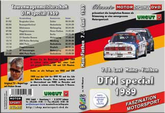 DTM-spezial 1989 * Mainz/Finthen  7./8. Lauf* BMW *D265