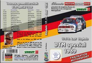 DTM-spezial 1989 * Diepholz  17./18. Lauf *D270
