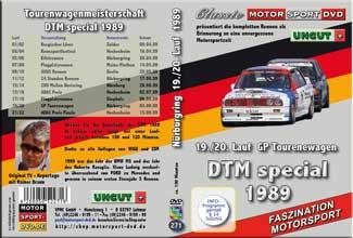 DTM-spezial * Nürburgring 1989 19./20. Lauf *D271