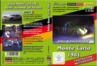 D324* Rallye Monte Carlo 1981 * Monte* Rallye WM * Porsche 944 Turbo